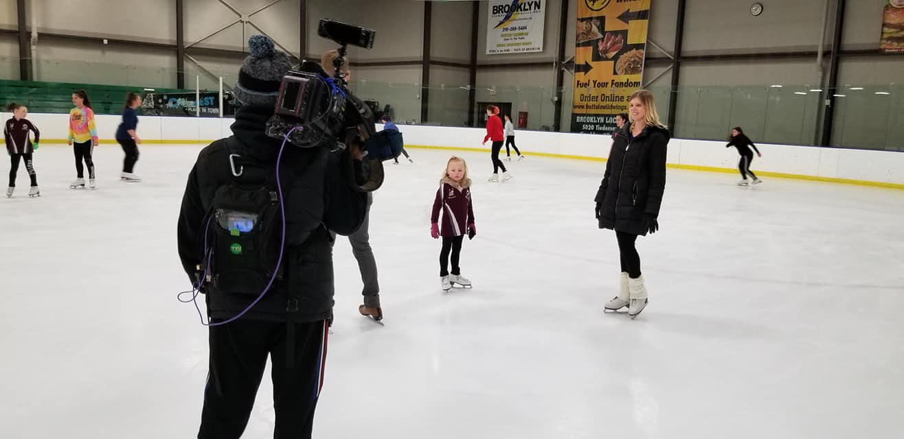 Brooklyn Blades on Ice gets interviewed