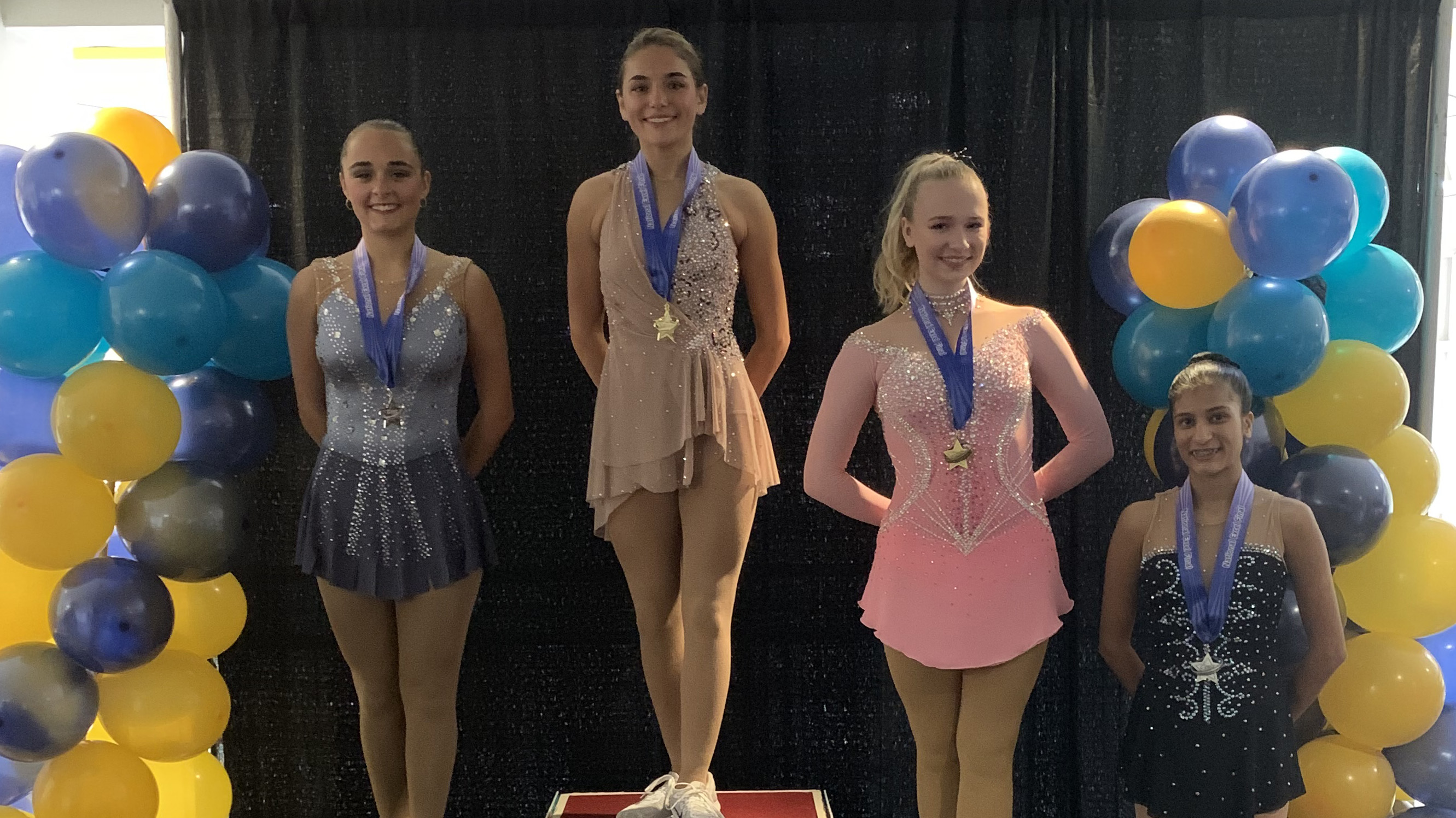Excel Festival medalists