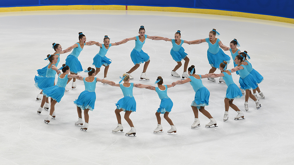 Synchro juvenile team website