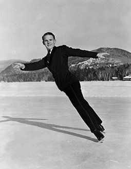 Dick Button at the 1948 Olympic Winter Games