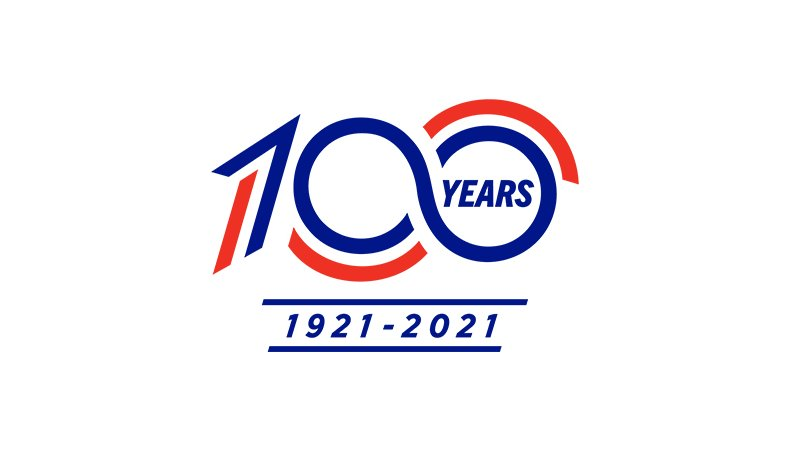 U.S. Figure Skating celebrates its 100-year anniversary in 2021 and this logo will be the anchor of the campaign